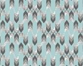 Sale! 1 yard Indelible Stylus Text Sky Art Gallery Fabrics IND-1221 - no.691