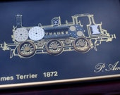Vintage Locomotive Thames Terrier 1872