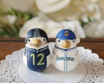 Sports Team Wedding Cake Topper - Medium