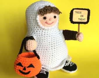 TRICK or TREATER Pdf crochet pattern