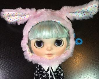 I am a Bunny Helmet - Candy Hearts