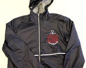 Monogrammed Raincoat Personalized Jacket