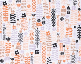 Erin McMorris Fabric by the Yard - Distrikt - Greenway in Petal - Quilter's Cotton