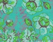 SALE - Free Spirit Fabrics Tina Givens Olivia's Holiday Romance Garden - End of Bolt - Last 31 Inches