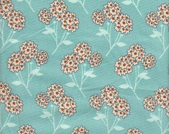 Art Gallery Fabrics Summerlove Tokens of Love in Aqua - Half Yard