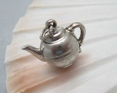 Vintage Sterling Teapot Charm C6726