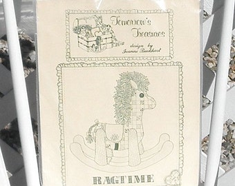 Ragtime Rocking Horse Kit by Tomorrows Treasures