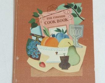Vintage 1949 Fireside Cookbook: Illustrated Culinary Advice from James Beard