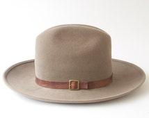 Women's Cowboy Hat- Western Hat- Rancher's Hat- Men's Cowboy Hat- Winter Accessory- Felt Cowboy Hat- Winter Hat- Stetson Hat- Cowgirl Hat