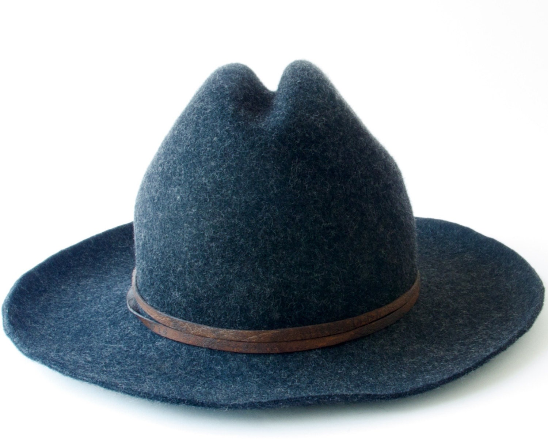 cowboy hat wool felt hat s hat s hat by katarinahats