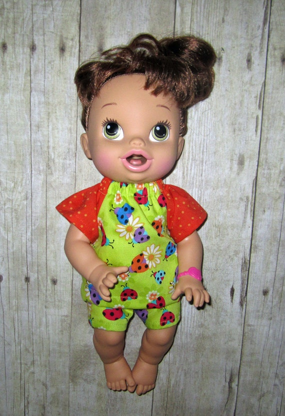 Corolle Tidoo Calin Doll Baby Alive Doll clothes Lady Bug