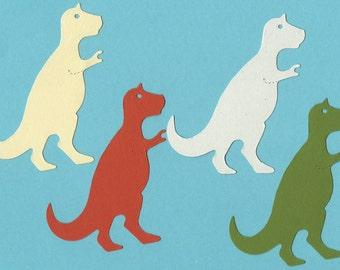 Lot of 4 T- Rex Sizzix Die Cuts