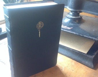 Made to Order Custom Leather Hand Bound Game of Thrones Song of Ice and Fire Hardcover Full Size Books 1-5 Deluxe Binding Set