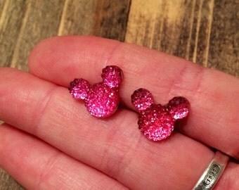 Mickey Mouse earrings ~Disney~ Disneyland ~ girls earrings ~ Disney Jewelry ~ kids earrings ~ Minnie Mouse ~ Disney Inspired Earrings