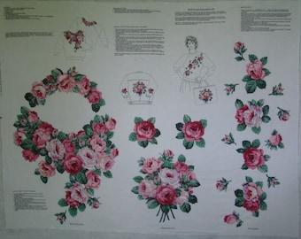 Rose Fever Wearable Art Appliques