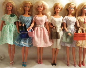 Pretty little dresses for barbie