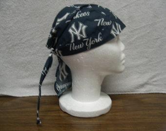 NY Yankees Skull Cap Do-Rag NEW