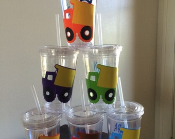 Construction Themed Cups