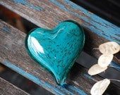 Turquoise with Gold Fleck...