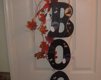 Hanging BOO Letters