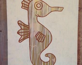 """Drip Series """"seahorse"""""""