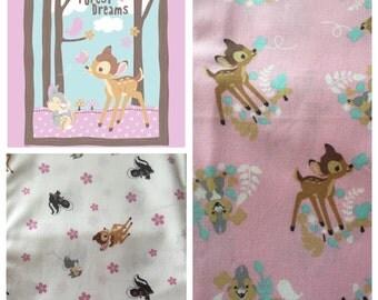 Bambi Boutique Crib Nursery Toddler Bedding Set