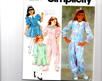 Simplicity 7638 Jumpsuit Dress size 7 10 new