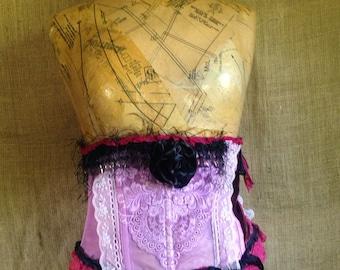 Pink waist cincher
