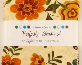 Charm Pack - Perfectly Seasoned by Sandy Gervais for Moda
