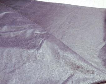 Purple microsuede fabric