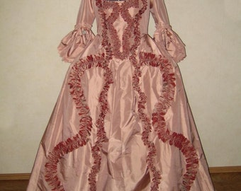 Robe à la Française - 18th century dress - made to order
