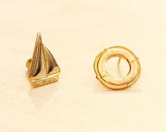 Vintage Nautical Pin Set