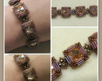 Side Show Bracelet PDF Jewelry Making Tutorial (INSTANT DOWNLOAD)