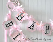 Ballerina Birthday Party Banner Decoration      Pink