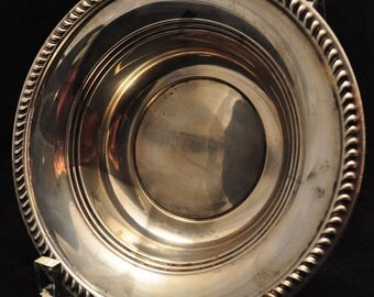 Vintage Sterling Silver Bowl