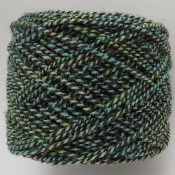 Babydoll Southdown / Shetland Yarn - Hand dyed - 2 ply - Worsted wt - 145 yds