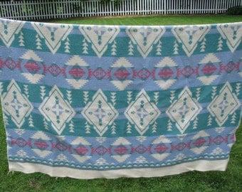 Vintage Beacon Indian Camp Blanket Wool & Cotton
