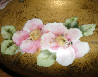 Antique Apple Blossom Bowl