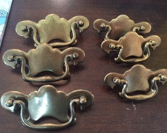 Vintage Furniture Pulls Set of 6