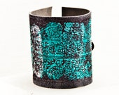 Leather Bracelets Summer Jewelry - Turquoise Bohemian Accessories - Bracelet Wristbands - Metal Buckle Cuff