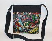 Just the Essentials Crossbody bag Marvel Kindle Nook purse