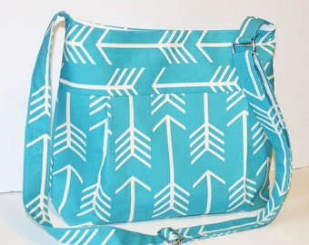 Arrow or Chevron in your choice of colors Diaper Bag and Purse