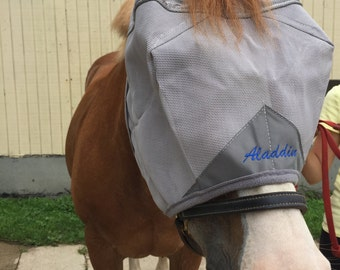 Personalized Cashel Fly Mask with Ears