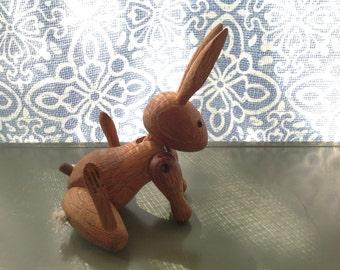 Vintage Kay Bojesen Teak Rabbit