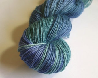 Forest by the sea Blue Faced Leicester Sock Weight Yarn