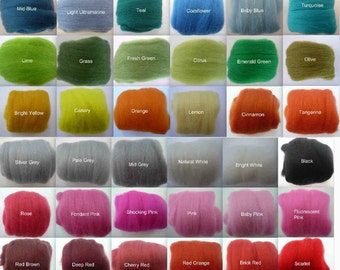 Heidifeathers Merino Wool Tops - Choose the Colour