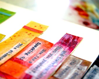 Paper Weaving Backing- Fine Quality Watercolor Paper- Standard Sizes- Easy To Frame