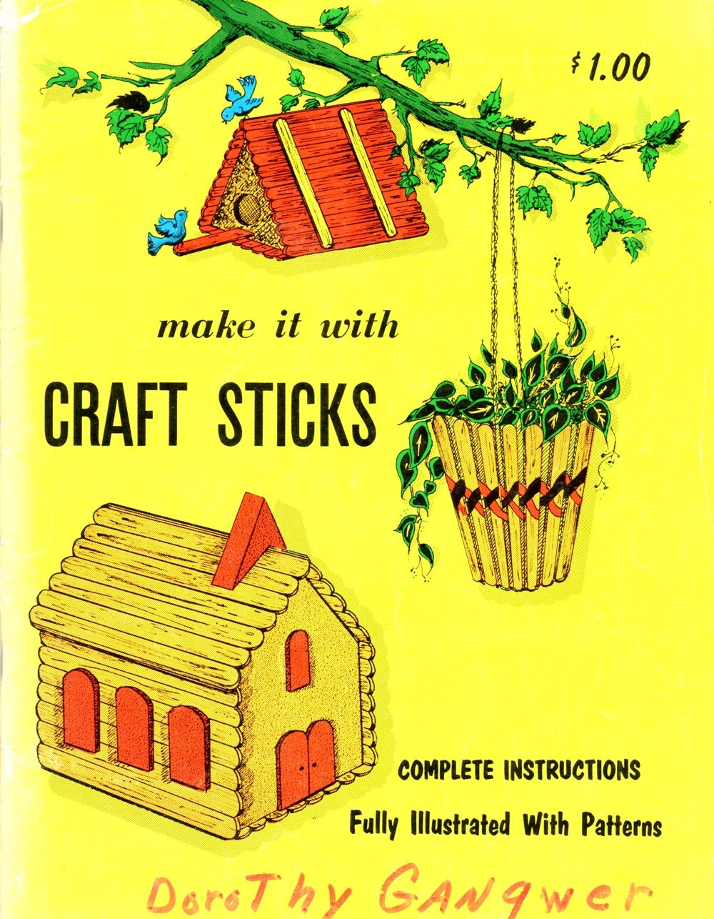 Faire avec craft b tons bois popsicle stick bird house feeder for Mangeoire synonyme