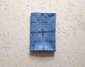 indigo dyed blue handkerchief bandana pocket square
