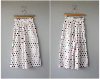 Vintage Gauchos | Vintage Culottes | Vintage High Rise Gauchos | Cotton Gaucho Pants | Wide Leg Pants